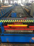 Machine de formage de rouleaux de panneaux de toit ondulé