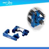 Aluminium 6061 bunter anodisierter CNC 6063 7075 T6, der für Herstellung maschinell bearbeitet
