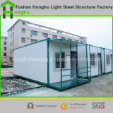 Casa prefabricada del envase de la casa del edificio de acero estándar para la comodidad