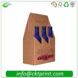 Vakjes van het Document van de Fles van zes Pakken de Packcaging Golf (ckt-Pb-112)