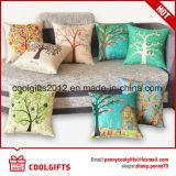 ホーム織物の装飾的な枕は綿のリネンクッションカバーをカバーする