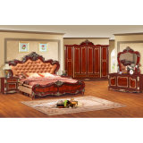 سرير وخزانة ثوب لأنّ أثر قديم غرفة نوم أثاث لازم ([و803])