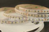 Adornamiento de la luz de tira flexible doble ligera del color SMD3527 120LEDs LED