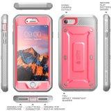Anschlagpuffer-Kasten der iPhone 7 Schlag beständiger Doppel-Schicht Mischling-Rückseiten-TPU