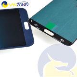 Samsung E7 E700를 위한 LCD 스크린 백색 파란 새로운 LCD 디스플레이 접촉 스크린 수치기 회의는 출하를 해방한다