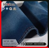 Indigo Twill Cotton Polyester Spandex Viscose Denim Fabric 11 oz