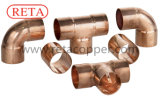 Encaixe de cobre de Reta para ISO 9001 de Hvacr certificado