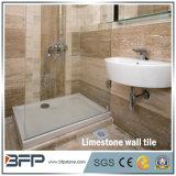 Tuile de mur intérieur de travertin des prix de Lowes pour des environnements de salle de bains