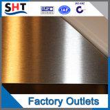 Prix laminé à froid de feuille d'acier inoxydable de haute précision