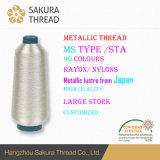 Filé métallique d'amorçage de qualité pour le tissu/broderie de tricotage