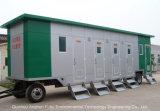 Im Freien bewegliche bewegliche Schlussteil-Toilette