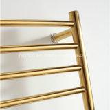Spoor van de Handdoek van de muur het Hangende Roestvrij staal Verwarmde in Gouden Kleur