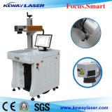 машина маркировки лазера волокна 10W 20W для изготовления поверхности металла/покрытия/пер металла с Ce