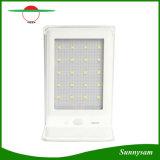mouvement extérieur de lampe de jardin de panneau solaire de 20PCS SMD 2835 DEL ABS+ de pouvoir de lumière en aluminium de mur + lampe solaire saine de contrôle de détecteur
