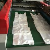 De Zak die van de T-shirt van de Supermarkt van de hoge snelheid Machine voor 400600PCS/Min (gelijkstroom-GS400) maken