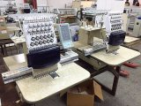Fábricas de máquina principais do bordado do tampão do computador únicas