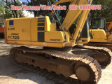 Excavador usado de la correa eslabonada de KOMATSU PC120-6, excavador 10ton-12ton