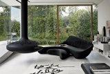 Sofá de luna de fibra de vidrio para el vestíbulo