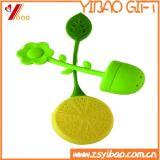 Tè Infuser del silicone di stile del foglio della pianta di POT di immaginazione del commercio all'ingrosso di prezzi di fabbrica