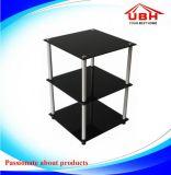 3배 층 화분 전시 테이블