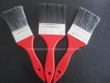 Embalaje de madera rojo del conjunto de cepillo de pintura de la maneta