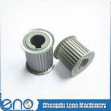 Pulegge di alluminio poco costose del pattino del motore del trasportatore At3