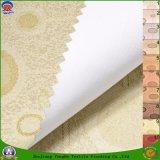 Tela tejida ignífuga impermeable revestida del poliester de la materia textil casera para la cortina de ventana