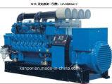 Elektrische die Generator 1600kw 2000kVA 50hzdiesel Genset door Duitse Mtu wordt aangedreven