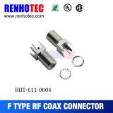 RF CATV F Audio Video Blindaje de conector coaxial