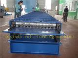 Doppelte Blatt-Dach-Panel-Rolle, die Maschine bildet