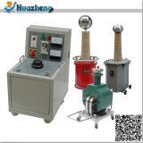 Transformateur à essai à huile et à immersion à courant alternatif DC haute tension de 50kVA 200kv