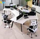 Divisorio L stazione di lavoro di figura (HX-NCD107) dell'ufficio delle sedi della mobilia 6 del metallo