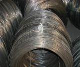 釘の作成のための黒いワイヤーか黒く堅い引かれた釘ワイヤー
