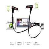 Sporten Earbuds van het in-oor van de Hoofdtelefoon Sweatproof van Aoleca Bluetooth van de Hoofdtelefoon van Bluetooth V4.1 de Draadloze Sportieve