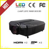 Beweglicher LED Projektor des Multimedia-Funktions-Kino-Heimkino LCD-Projektor-