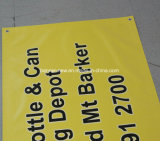 Impressão feita sob encomenda ao ar livre que anuncia a bandeira do PVC do vinil (SS-VB95)
