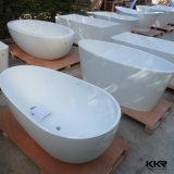 Tina caliente de piedra libre de la bañera superficial sólida de la alta calidad