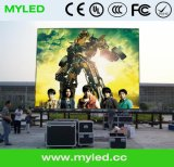 Al aire libre Alquiler Screen Display / Publicidad LED con panel 500X1000mm.