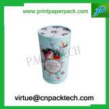 꽃 마분지 차 보석 선물 상자의 둘레에 인쇄되는 색깔