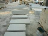Mattonelle grige di pietra naturali che pavimentano per l'abbellimento, lastricatore dell'arenaria della Cina
