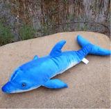 Giocattolo farcito bello dell'animale di mare della peluche del delfino