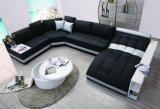 余暇デザインの2017年の居間の家具の現代革ソファーセット