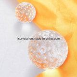Kristallglas-Golf-Form-Raum-Kugel für Dekoration