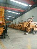 Подающая помпа тома машинного оборудования Ding Feng большой установленная тележкой конкретная
