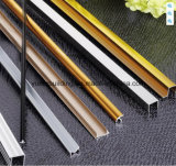 Aluminiumtrimmer-Silber L Form