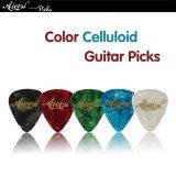 Sélections matérielles de guitare d'OEM d'ODM de celluloïde en gros de qualité