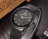 Belbi 남녀 공통 시계를 위한 간단한 다이얼 사업 Ultra-Thin 스테인리스