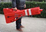 Beweglicher Plastik, der expandierbare Sicherheitsschranke durchbrennt