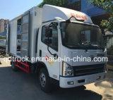 중국 Sinotruk 4*2 밴 Container Light 중간 화물 트럭