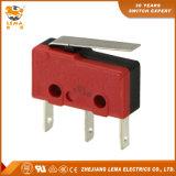 Lema rouge et noircissent 110 rapides branchent le commutateur de micro du terminal Kw12-1g